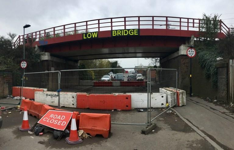 Network Rail warns over bridge strikes by trucks