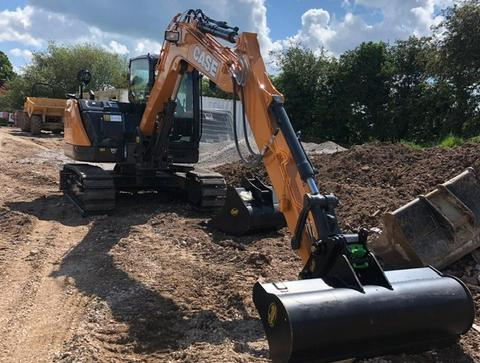 First CASE CE Stage V excavator sold in Europe