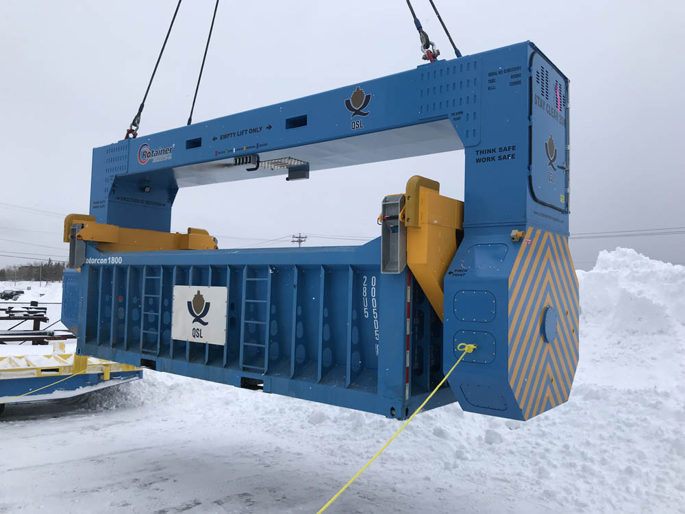 CRS's new Rotainer Eurospec 32 being tested in Canada