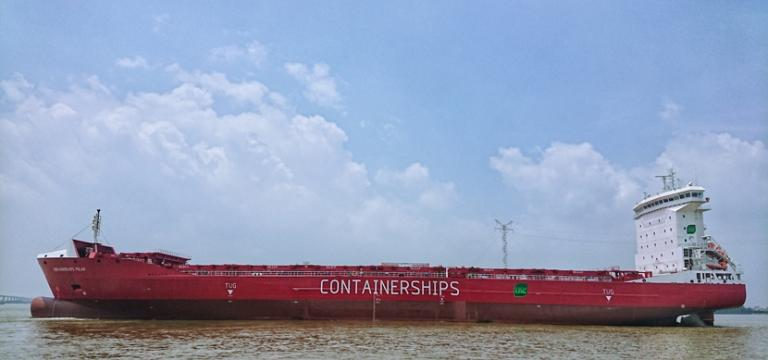 Containerships introduces second LNG-powered ship