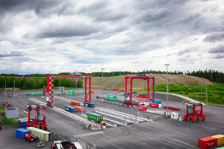 Kalmar's technology centre in Tampere, Finland