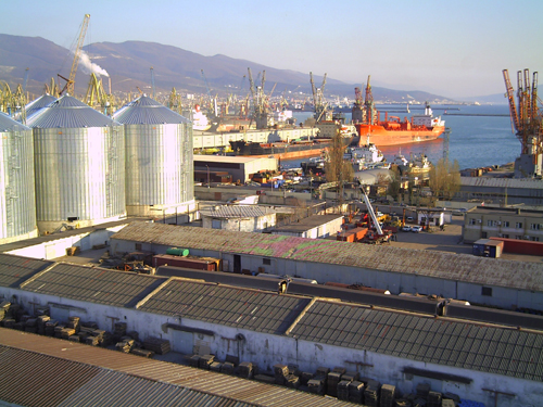 To support the grain trade, Russia's leading Black Sea port of Novorossiysk is being modernised