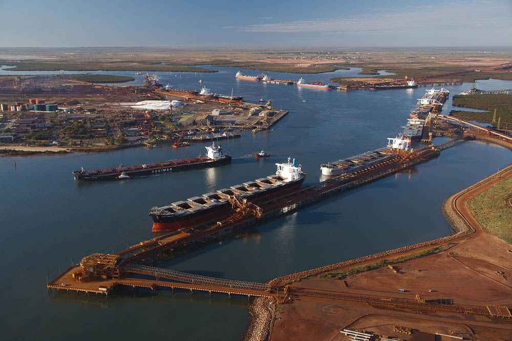 Port Hedland will benefit from the investment in new iron ore mining projects in the Pilbara region