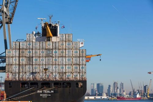 April container record for Rotterdam