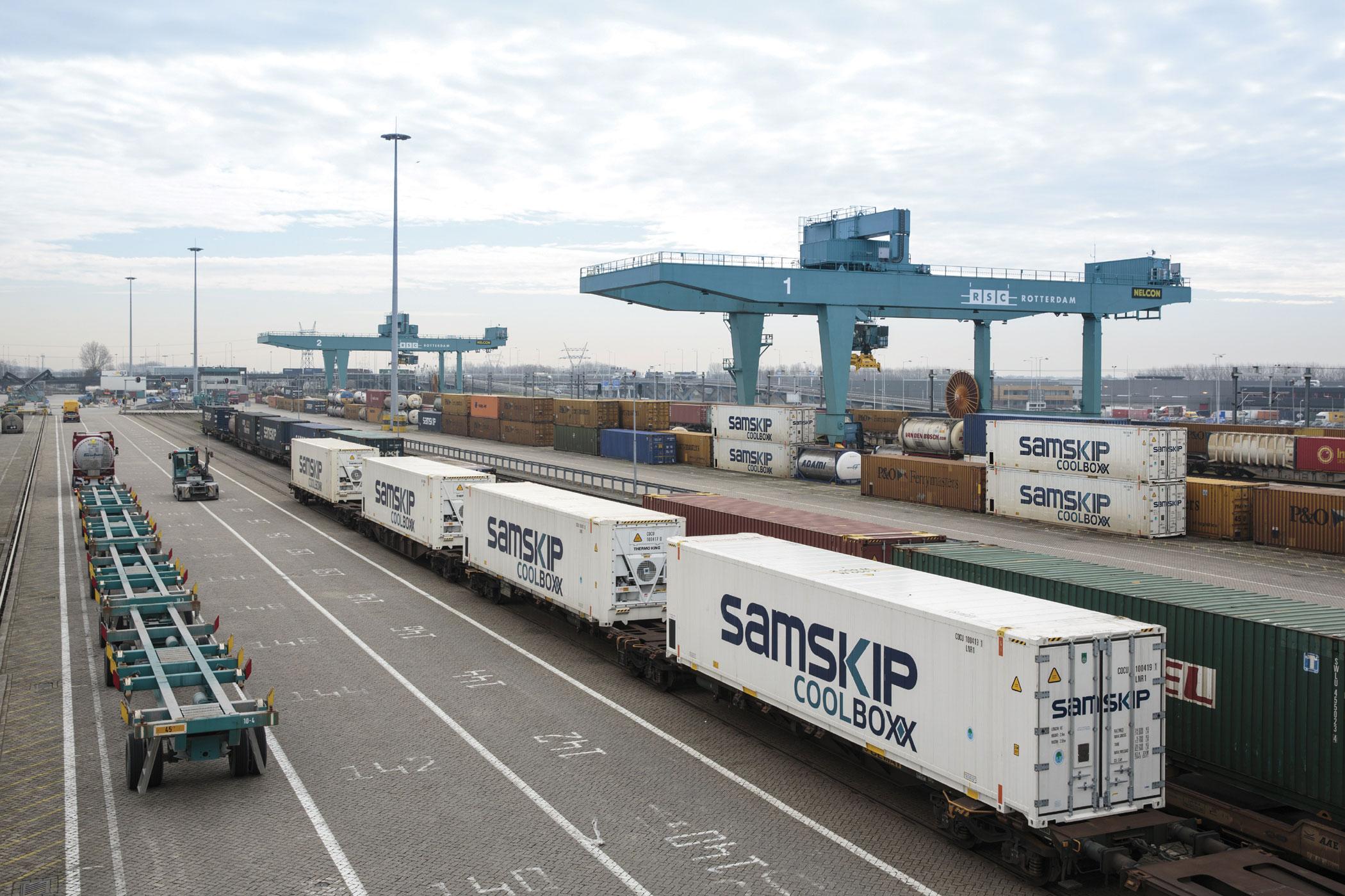 Globe Tracker lands Samskip