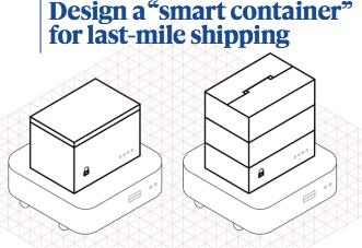 New smart container for last-mile logistics