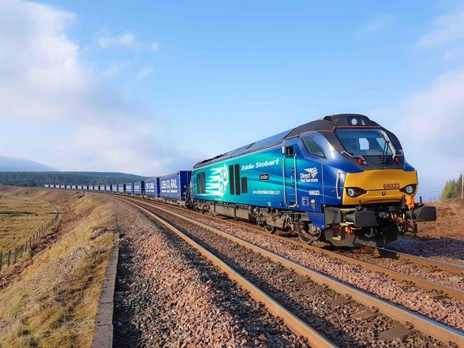 Tilbury-Grangemouth intermodal rail