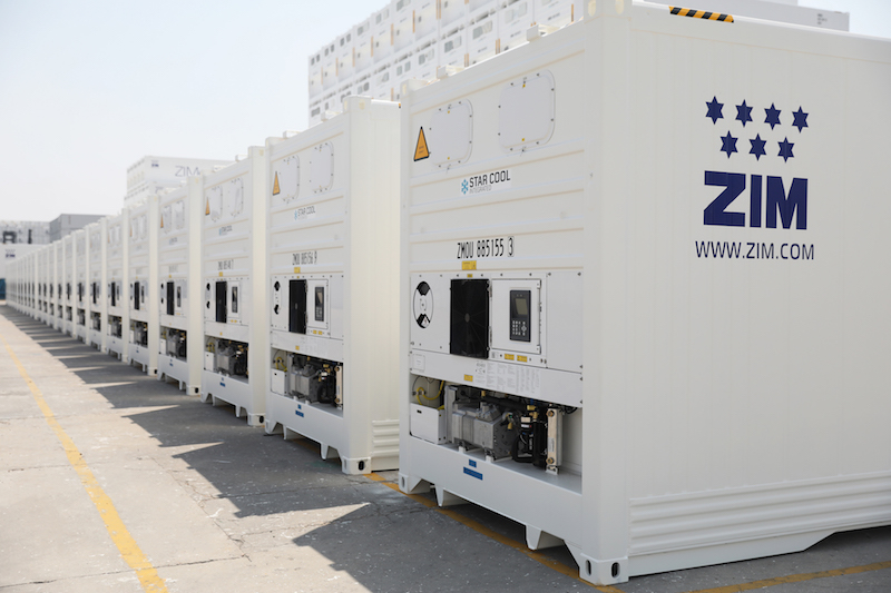 ZIM orders MCI reefers