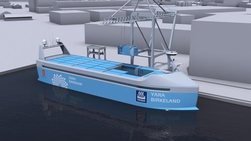 MacGregor automated mooring for YARA BIRKELAND