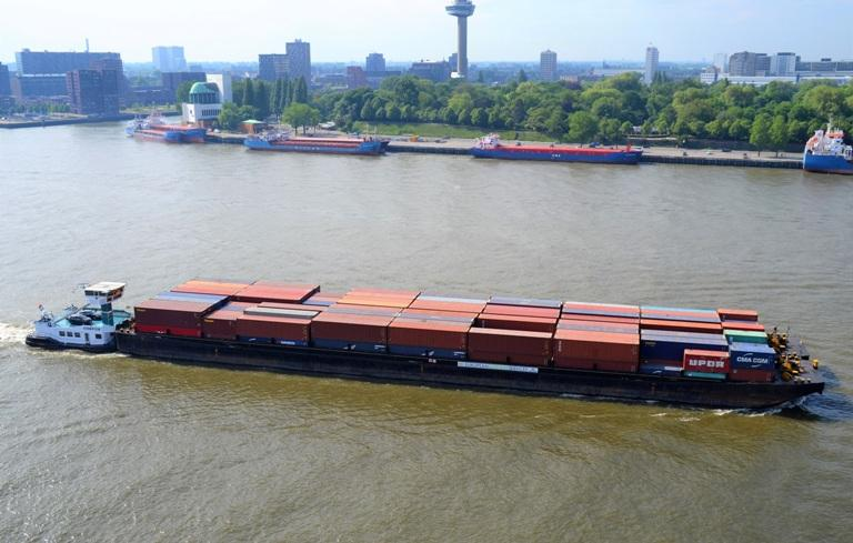 Intercity Barge passes 100,000 containers threshold