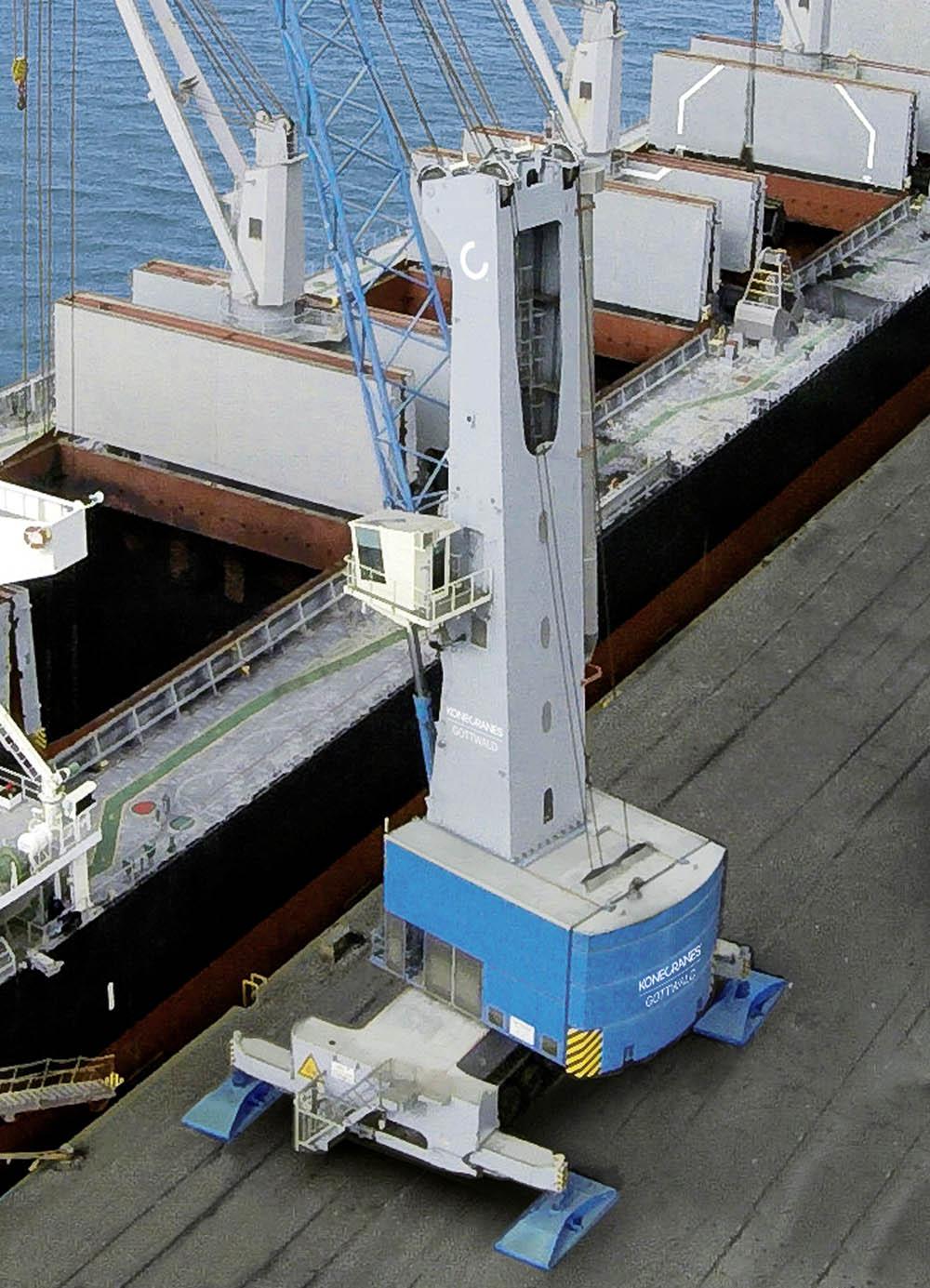 Konecranes four-rope MHC for HES Gdynia