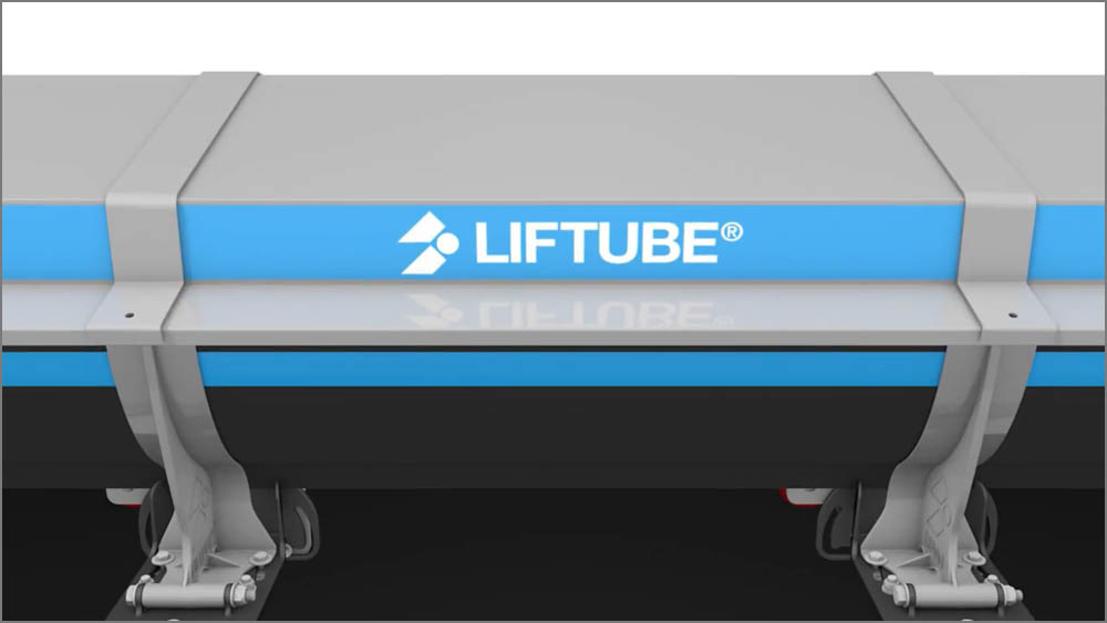 Liftube seals a conveyor belt by covering it with hoods to reduce product loss.