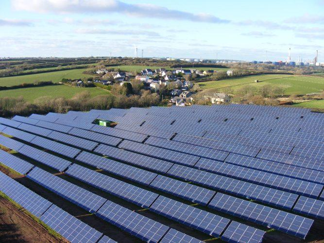 The Liddeston Solar Array was completed in 2014