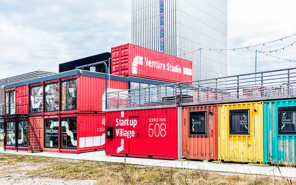 Startup Village Amsterdam's Science Park provides new technology specialists & scientific ventures