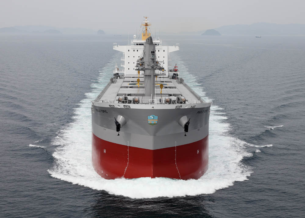 The hybrid solution to be installed on the MV PAOLO TOPIC