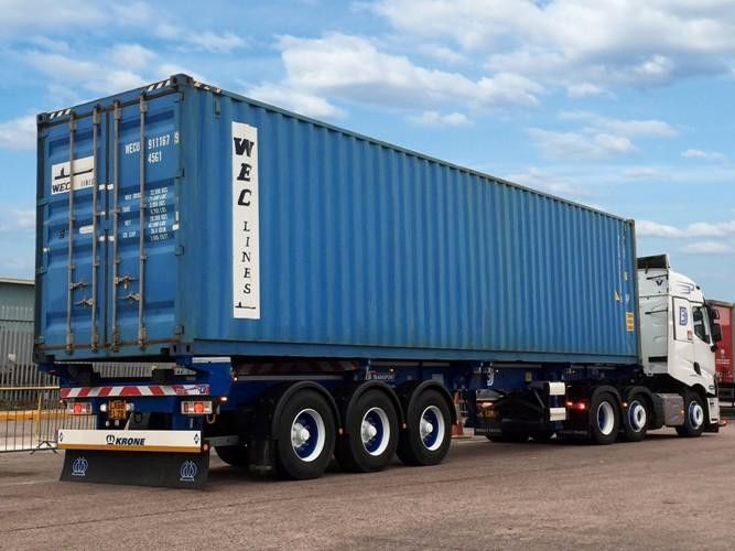 3 Dees Transport opts for Krone container chassis