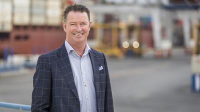 Ports of Auckland CEO Tony Gibson