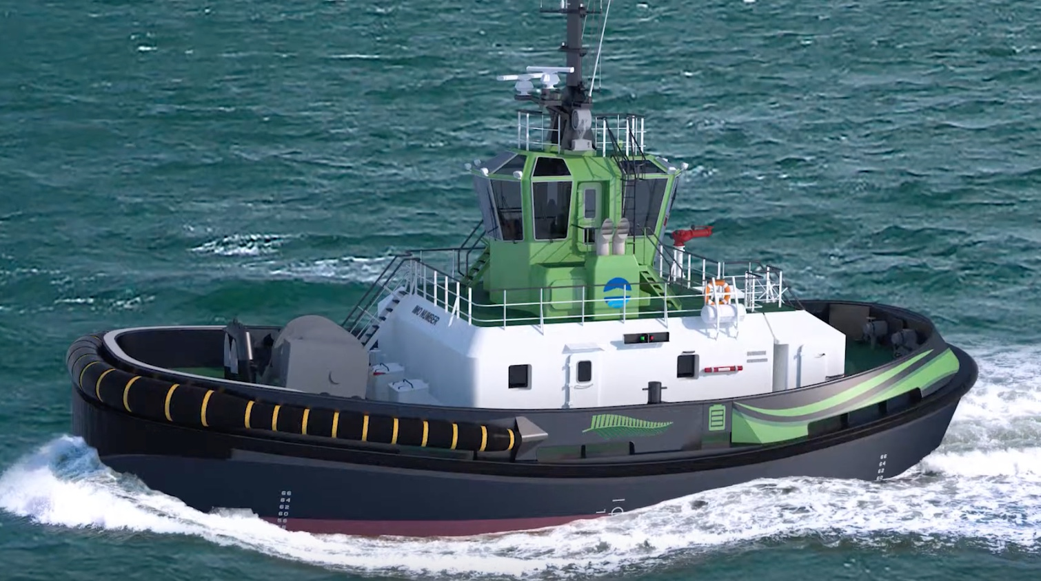 Electric tug for Auckland