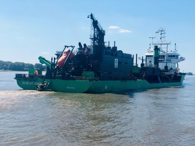 Suction dredger SCHELDT RIVER inaugurated the 3-year programme