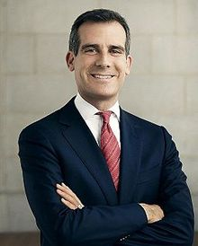 LA Mayor Eric Garcetti