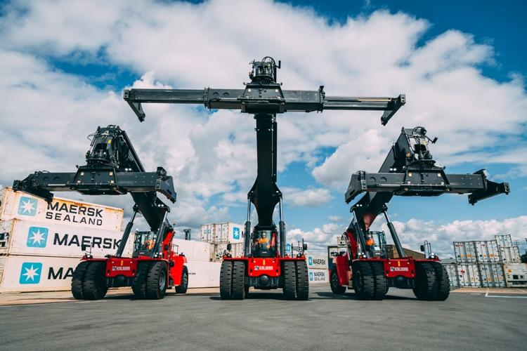 The equipment comes with Kalmar's Insight fleet monitoring system