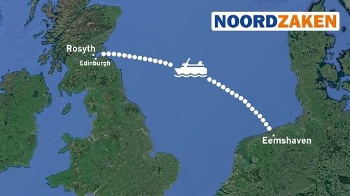 Scotland-Eemshaven ro-pax link?