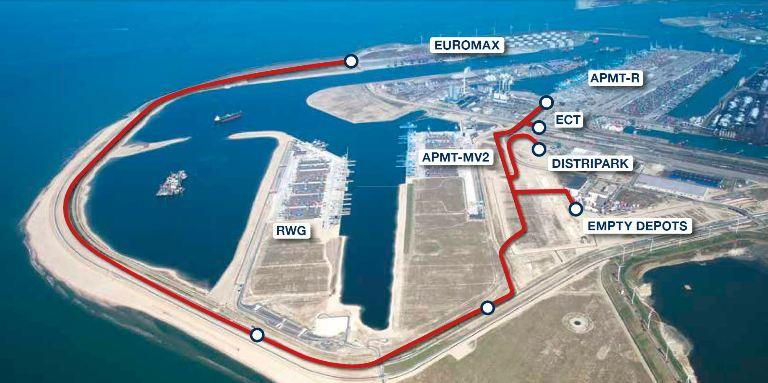 The Container Exchange Route on the Maasvlaktes could bring yet more container traffic