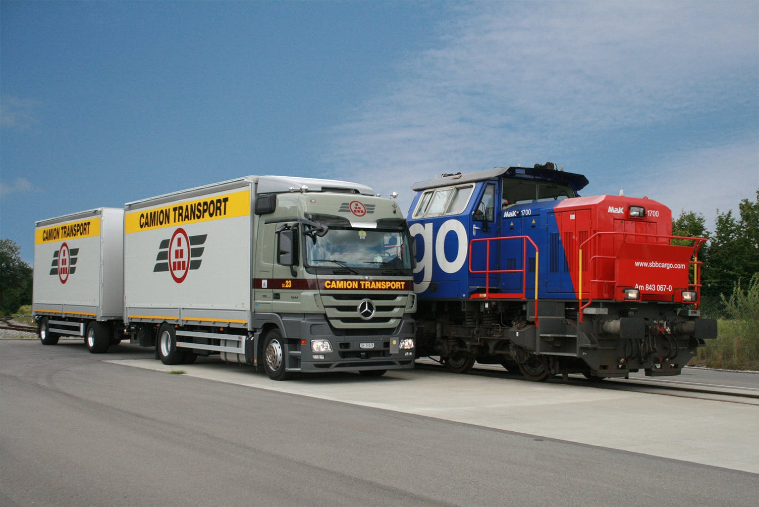 Camion is one of two 40% stakeholders in Swiss Combi