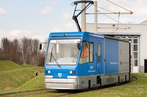 Trams for urban freight