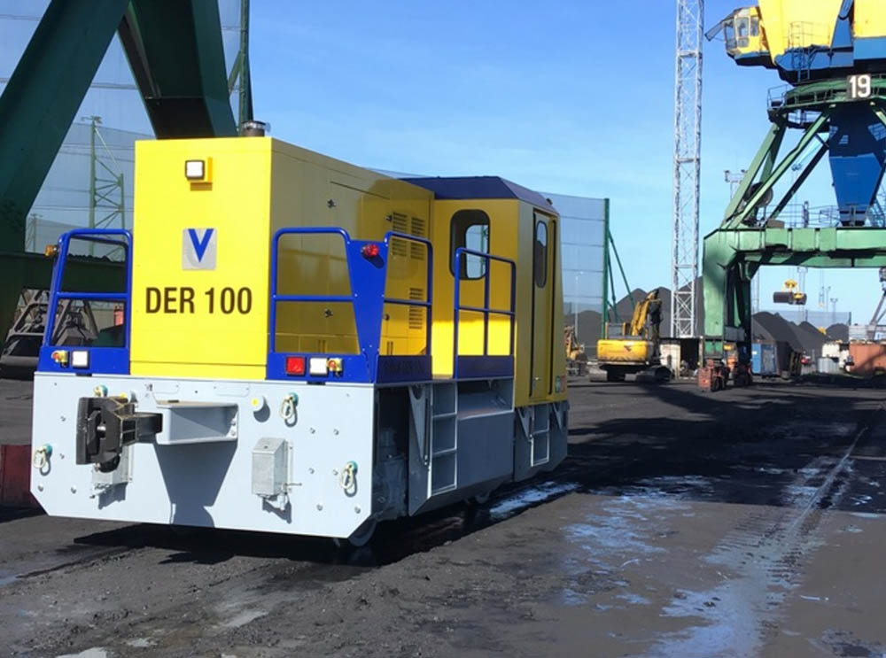 Riga robot helps make coal loading friendlier