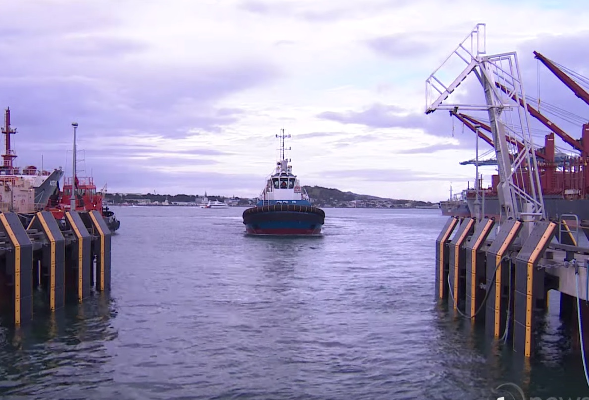 Auckland wants the new electric tug to match the performance of its diesel vessel Hauraki.