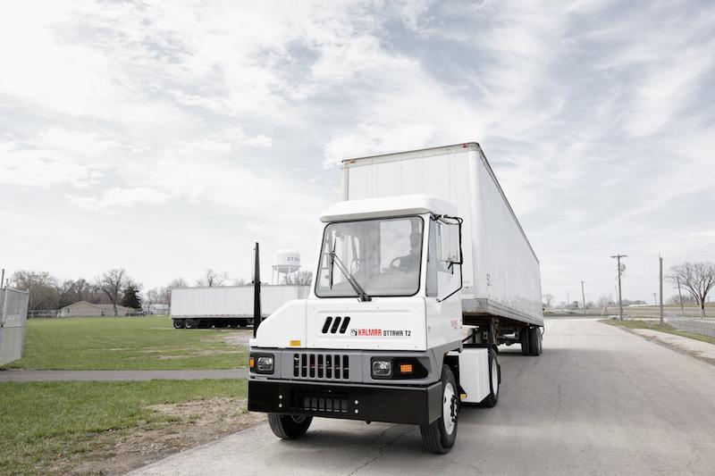 Big electric tractor order for Kalmar