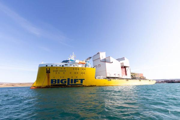 ThyssenKrupp ships 5,500t materials handling system