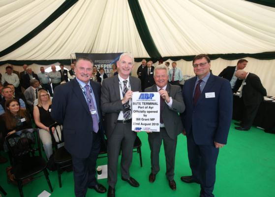 Port of Ayr opens new Bute Terminal for agribulk