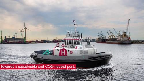 Hydrogen-powered tug is world first, says Antwerp