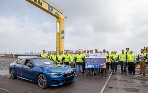 Cuxport handles 2M automobiles for BMW Group