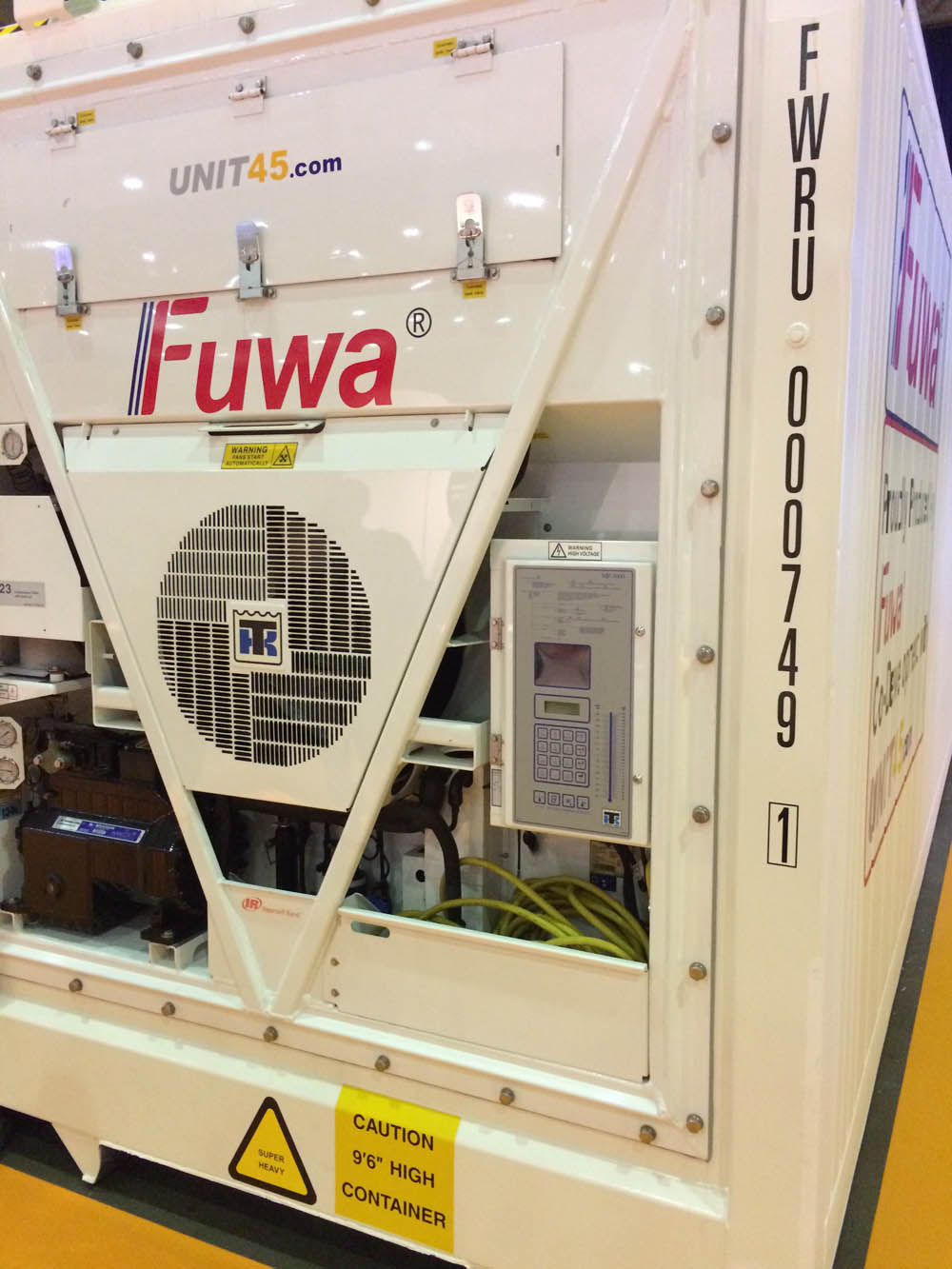 FUWA built a record 18,000 TEU of reefer containers in 2018