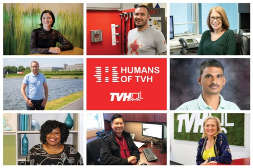 TVH puts its employees in the spotlight
