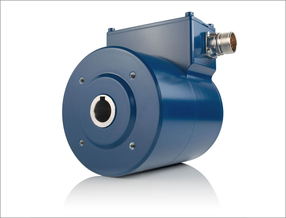 The safety certified hollow shaft encoder FG (H) 41