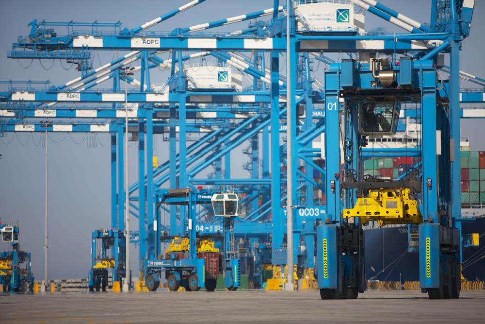 The expansion programme at Khalifa port will provide up to 5.5M TEU of additional capacity