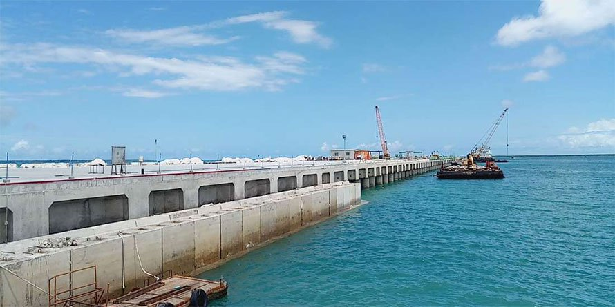 The new Port of Lamu. (Photo: NMG/Business Daily)