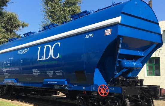 Louis Dreyfus sets up rail venture in Ukraine