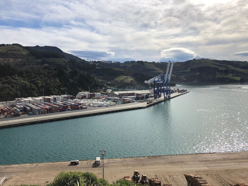 Box throughput steady for Port Otago