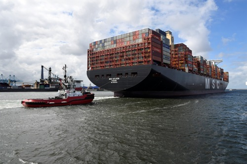 "Rotterdam ""ready for 30,000 TEU container ships"""
