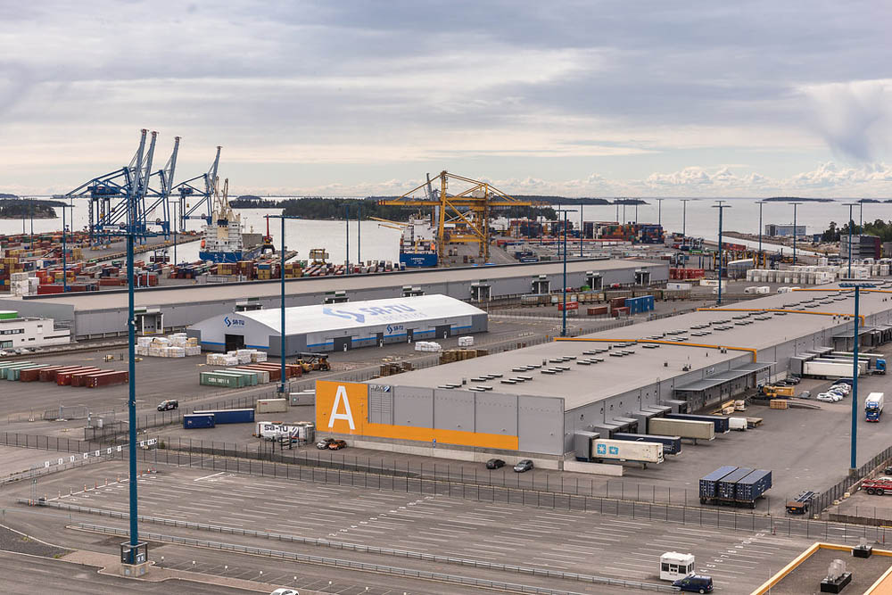 SA-TU Logistics is already a big player in Vuosaari Harbour