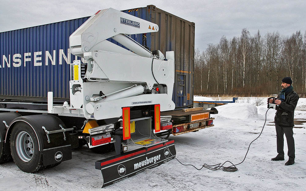 Earlier this year, Steelbro supplied a sidelifter to the Russian market for the first time