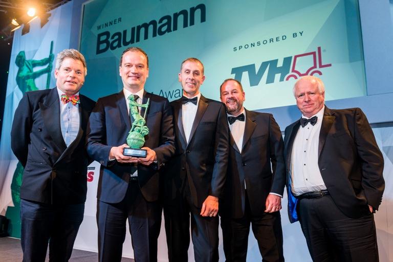 "TVH already sponsored the 2019 ""Environment Archie"" award, won by Baumann"
