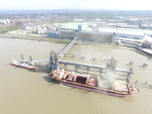 Port of Tilbury grain terminal marks 50 years
