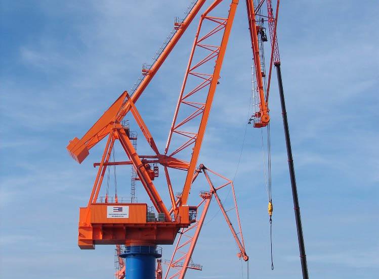 Kocks Ardelt delivers Tukan crane to Brunsbüttel