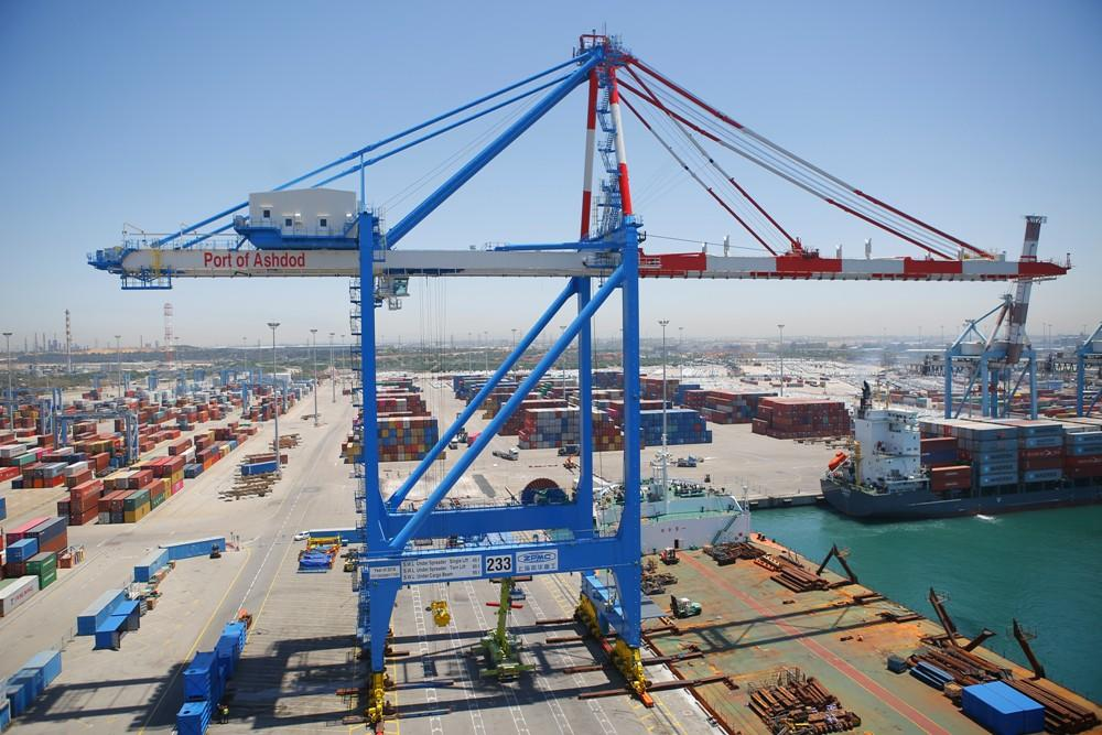 Ashdod orders more cranes